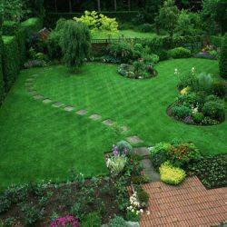 искусственный газон для сада